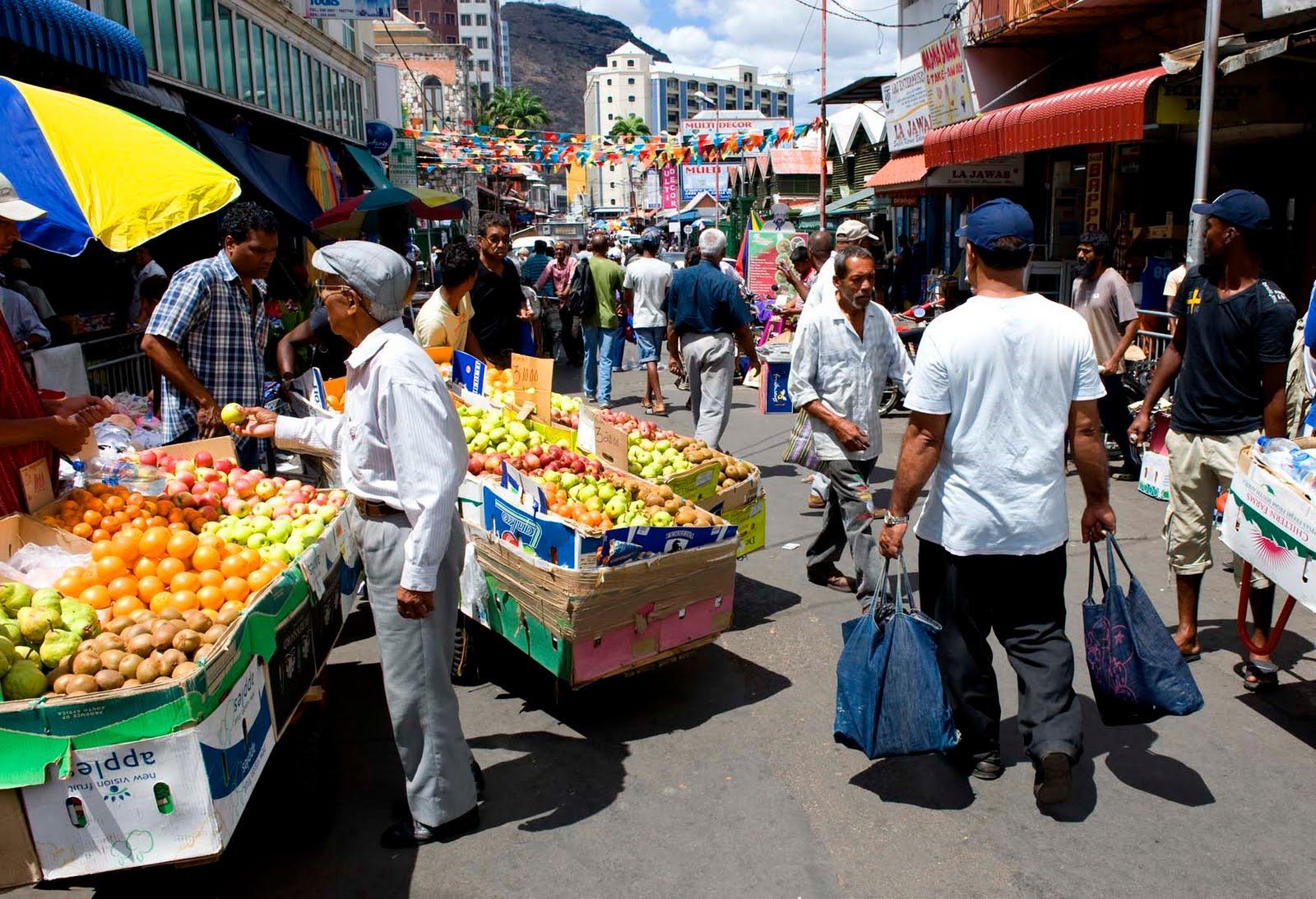 - Mauritius market port louis ...