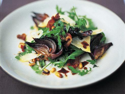 Scrummy Warm Arugula Salad By Jamie Oliver