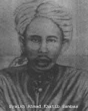 Hazrat Maulana Shaykh Ahmad Khatib al Sambas al Makki