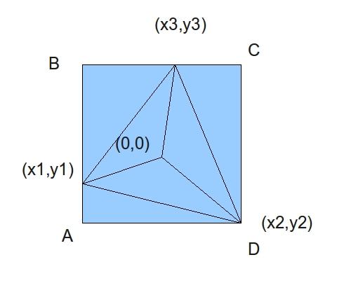 как вывести треугольник из чисел в c