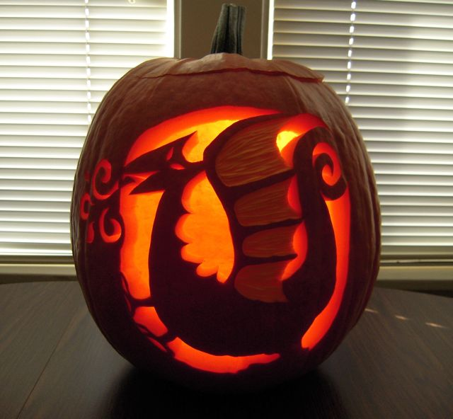 WILD ABOUT WORDS: 6-1/2 Ways to Carve a Fantastic Pumpkin with ...