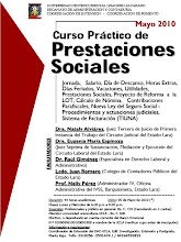 Curso Prctico de Prestaciones Sociales: Mayo 2010