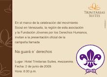 En el marco de la celebración del Movimiento Scout en Venezuela