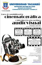 Curso de Sensibilización Cinematográfica e introducción a la escritura audiovisual