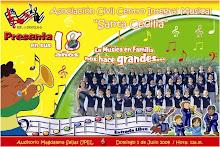 """Asociación Civil Centro Integral Musical """"Santa Cecilia"""", Presenta en sus 18 Años:"""