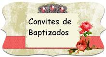 Convites de Baptizados