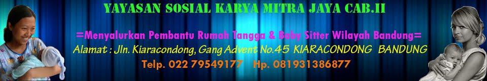 Penyalur Baby Sitter Bandung