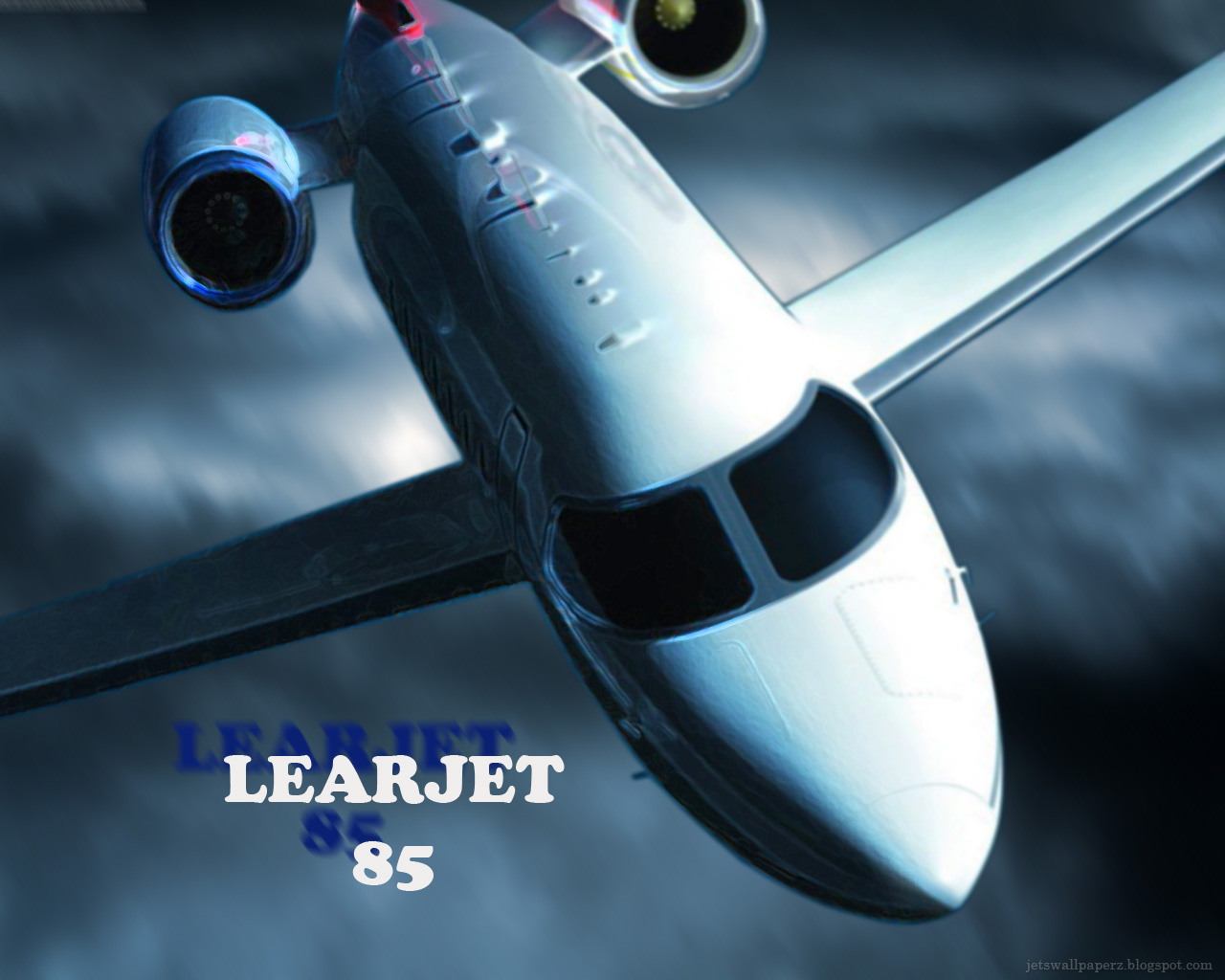 Learjet85 Wallpaper