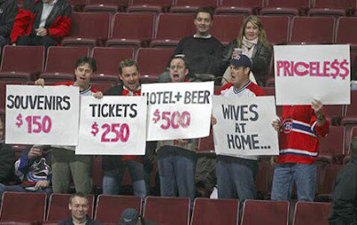 hockey game priceless