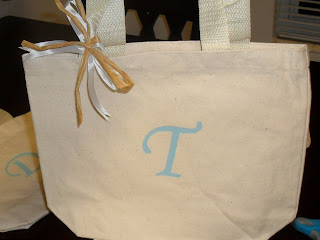 DIY Personalized Bridesmaid Tote photo 6