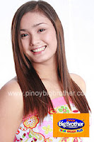 Linda Backlund of Pinoy Big Brother Teen Edition Plus