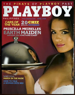 John Estrada Priscilla Meirelles is the Very First Playboy Philippines Cover Girl!
