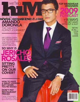 Jericho Rosales - Metro Him Magazine