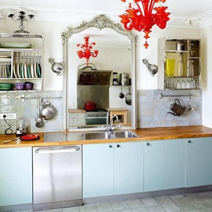 Espejos en la cocina y algunos dulces m s ministry of deco for Cocinas con espejos
