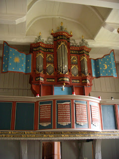 Organ in Westerhusen (Ost Friesland, Germany)
