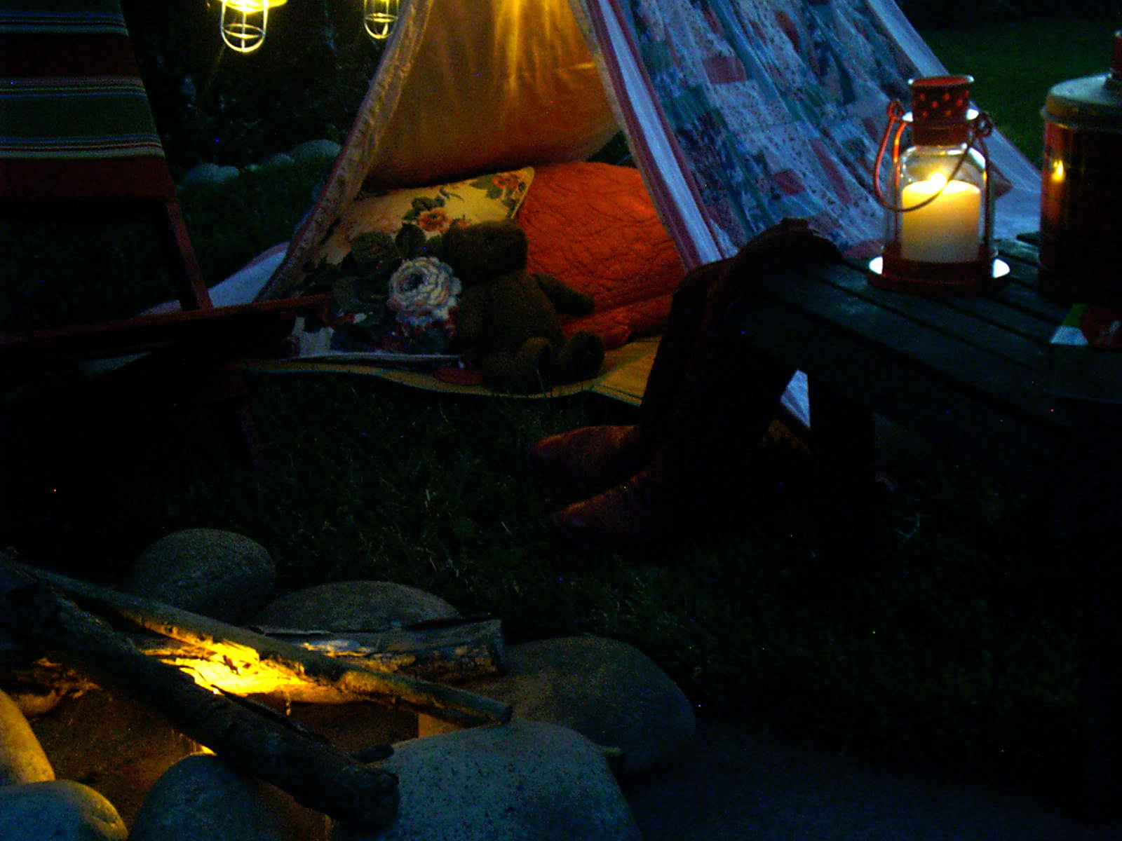 ash tree cottage cozy u0026 red backyard camping
