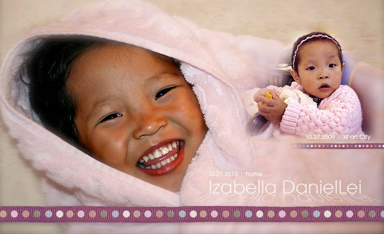 Hope, Faith and Izabella DanielLei (An ChunLei)