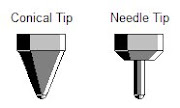 Conical vs Needle Pen Tips
