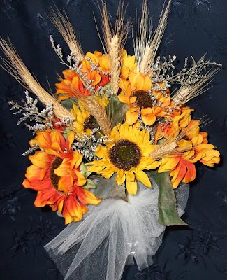 Sunflower bouquet for your Fall Wedding