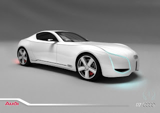 New Audi concept car the D7