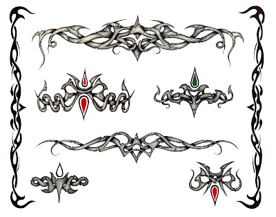 Hawaiian tribal tattoo designs. Posted by tattoo art at 4:57 AM