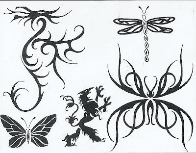 Tribal Tiger Tattoos.