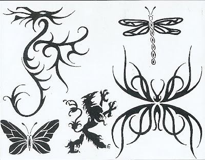 Tribal Tattoo Flash. Free Tattoo Flash Designs