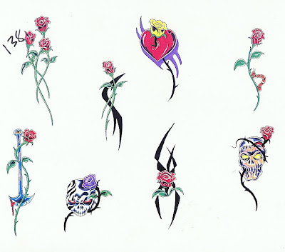 Flower Tattoo Designs Especially Hawaiian Flower Tattoos sagitarius tattoos