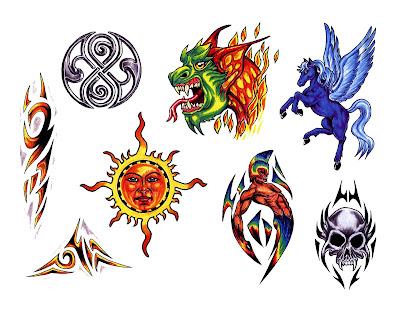 Free tattoo flash designs 101