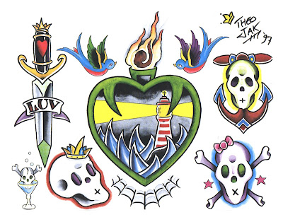 Tattoo Flash Art Designs. Design, body art tattoo.