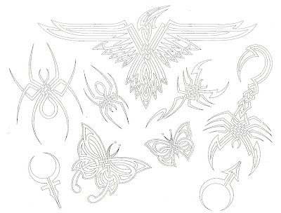 and we will send you 5 free tattoo designs and flash sheets!