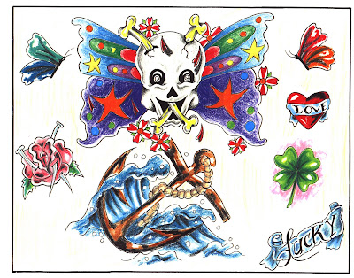 tattoo flash set tattoo flash set tattoo design sheets