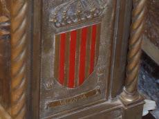 urna que conté el braç incorrupte del sant