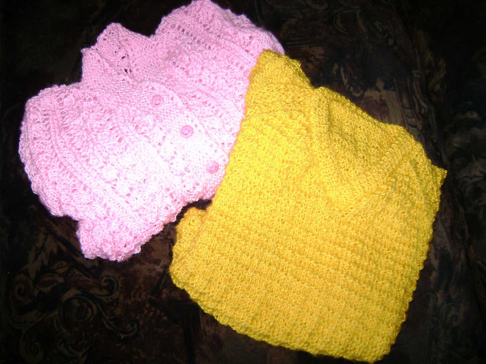 mis labores de punto y crochet: tejidos a palillos