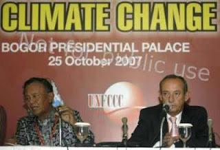 Indonesia as host on climate change conference