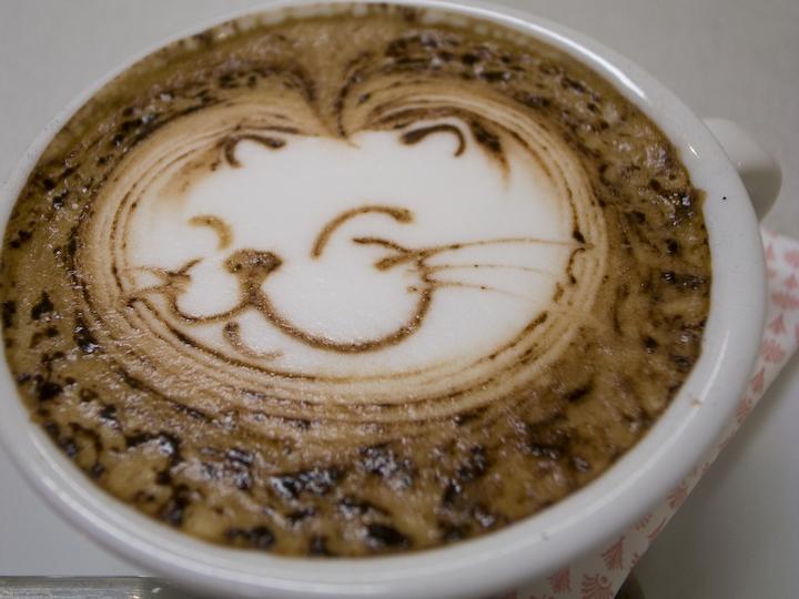 Latte Art Designs : Taka in the world latte art