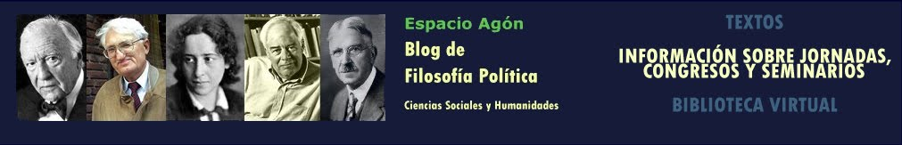Espacio Agón - Blog de Filosofía Política - Political Philosophy Blog