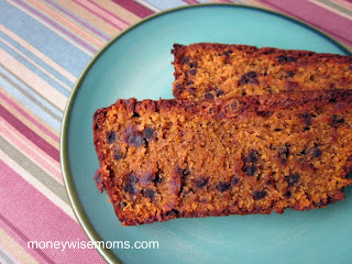 Pumpkin Chocolate Chip Bread | Gluten-Free Baking for Fall | MoneywiseMoms