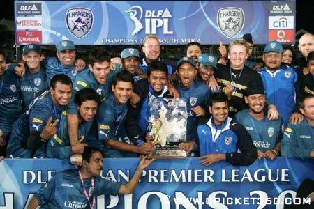 Deccan Chargers Ipl Champions Deccan Chargers