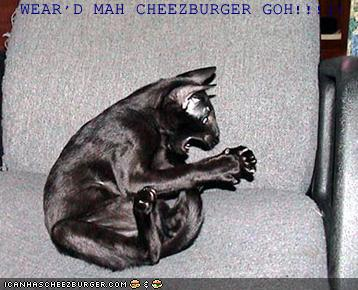 WEAR'D MAH CHEEZBURGER GOH