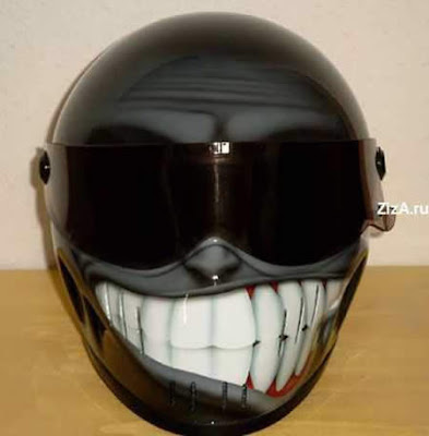 Smiley Helmet