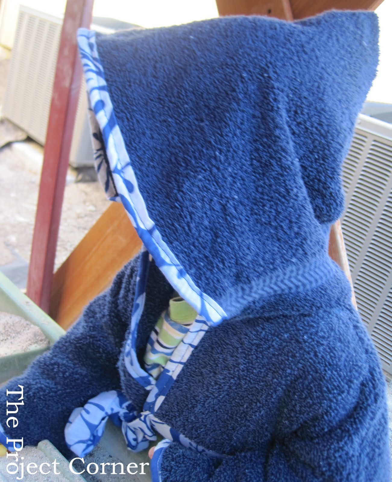 Hand Towels Meaning: The Project Corner: Towel Samari Cover Up