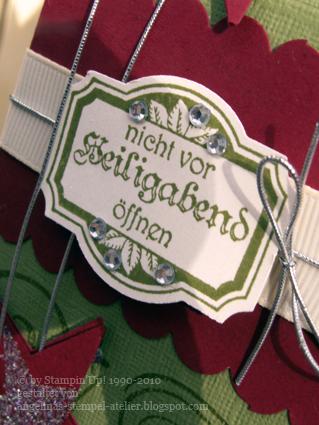 Workshop geschenkverpackung weihnachten