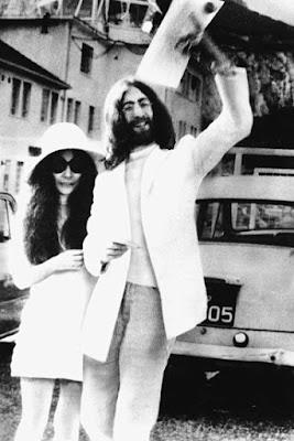 Yoko Ono Wedding Style