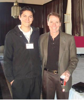 Roy Lafuente con Robert Dilts en Guadalajara, Jalisco.