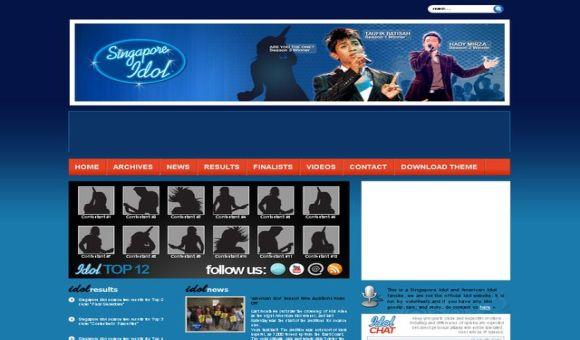 Free Wordpress Music Premium Web2.0 Theme