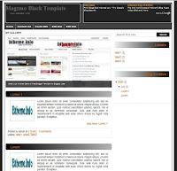 Magzmo Black Blogger Template