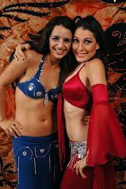 Con Estelle Zaghloul