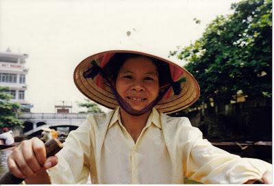 Camino a Perfume Pagoda.Vietnam