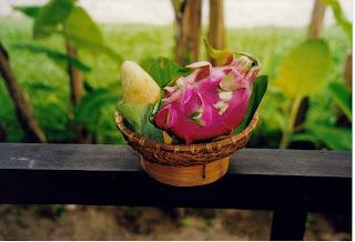 Dragon fruit. Fruta típica de Vietnam